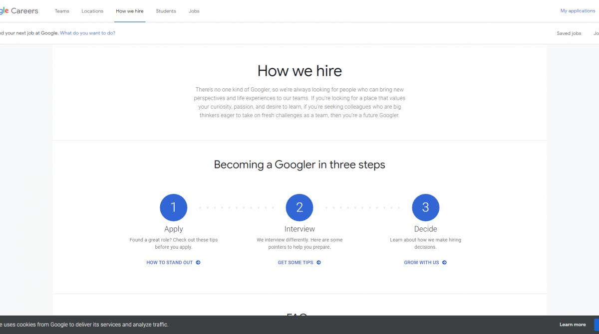 Lo que debes saber para encontrar trabajo en Google